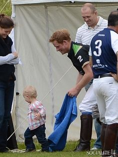 41/50 Favorite Pictures: Prince Harry at Polo Match