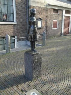 Anne Frank, Amsterdam, The Netherlands.