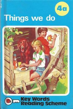 Ladybird Key Words With Peter and Jane 4a - Things We Do - Hardcover - S/Hand