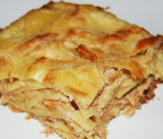 Ham cubes | Sonkás kocka | Receptek | gasztroABC Apple Pie, Lasagna, Ham, Cubes, Ethnic Recipes, Desserts, Food, Tailgate Desserts, Apple Cobbler