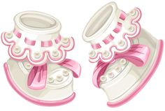 Beautiful baby shoes PNG and Vector Clipart Baby, Baby Shawer, Baby Kind, Bebe Vector, Diy And Crafts, Paper Crafts, Cute Alphabet, Baby Clip Art, Baby Christening