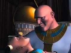Os 10 Mandamentos e Moisés filme em Desenho Animado-completo