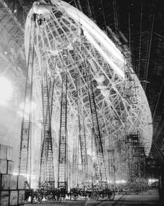 airship. probably later than victorian, but cool photo