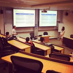 Team from Google talking about online travel - from the perspective of industry manager Matthew Zaheen and account strategist Monica Feng. #WITnext #traveljobcamp #Webintravel #travel #SMU #Singapore #university - @webintravel- #webstagram