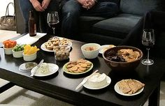 How to Throw a Housewarming Party | An appetizer spread