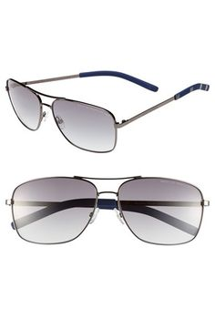 MARC BY MARC JACOBS 59mm Navigator Sunglasses