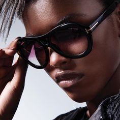 9e86e531aba TOM FORD — The Isla Sunglasses with gradient purple lenses.