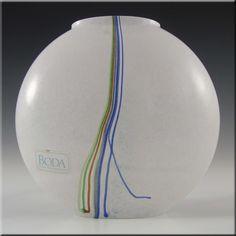 Kosta Boda Glass Rainbow Vase - Signed Bertil Vallien - £59.99