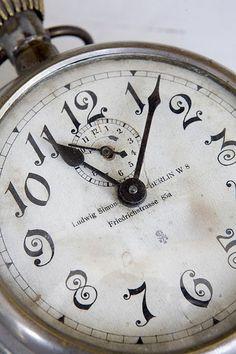 Julian's granddad's pocket watch