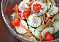 Cucumber and Sesame Salad