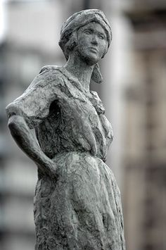 Havenmeisje - Carla Kamphuis-Meijer - naar het werk van Eugeen van Mieghem