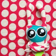 lukola handmade: Cudny cudak // Sweet cute plush toy