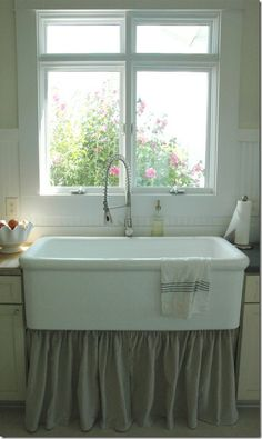 """Oh the farmhouse sink.  """"One of these days"""".....  sigh."""