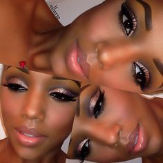 beautiful makeup application..
