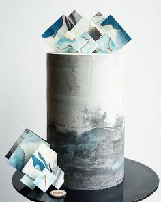 how to make a concrete cake