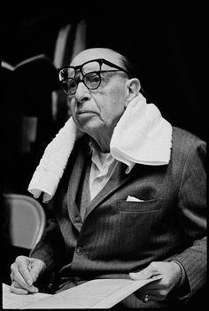 Igor Stravinsky- a composer, and mathematical genius by day, and... the same thing by night.
