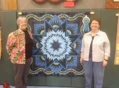Glacier Star designed by Quiltworx.com, made by Pat Bilski.