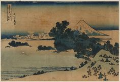 Hokusai. From the Library of Congress' collection of Japanese prints. If you click through to the L.O.C., you can download a huge TIFF.