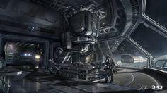 Halo 4 Concept Art by John Wallin Liberto