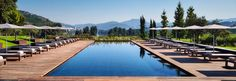 For a spot of wine and sun-drenched serenity, hit Six Senses' first European outpost in Portugal's Douro Valley