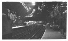 Birmingham New Street Platform 7 & 8 August 1964