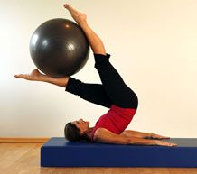 Pilates Exercises on the Ball