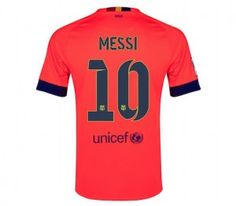 Is Lionel Messi your favorite football player? Should he have won the Ballon d'Or. He is certainly one of the most celebrated players, you can find more about his achievements to date here http://www.soccerbox.com/blog/barcelona-messi-shirt/ or simply order a Barcelona Messi shirt and show your support. Head to Soccer Box to be in with the chance of winning a Brazil away jersey with Neymar lettering. Enter Now and Repin to so others can enter too!