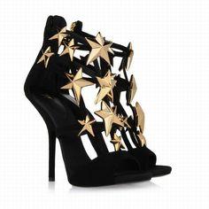 Sandalias estrellas doradas
