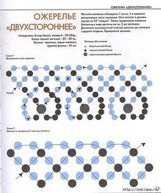 схема ожерелье