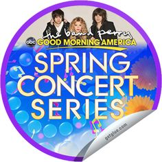 Steffie Doll's The Band Perry on GMA on April 2! Sticker | GetGlue