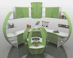 Apple Decor Kitchen Accessories | Green kitchen decorating ideas, green apple kitchen decoration theme ...