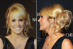 Carrie Underwoods hair would be great for a prom look.