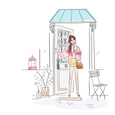 illustration saison printemps - Magalie F | Virginie