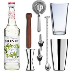 The Mojito Cocktail Gift Set in Presentation Box is the ideal gift which encompasses all the essential accoutrements required to make and shake the perfect Mojito to impress your guests or family members.