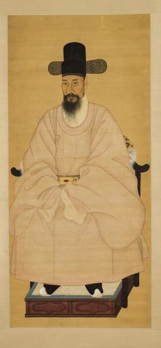 Portrait of a Scholar-Official in a Pink Robe Korea, Joseon dynasty (1392-1910), 19th century  | LACMA