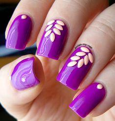+30 Fotos de uñas decoradas para usar en temporada 2015 / 2016 | Decoración de Uñas - Manicura y Nail Art                                                                                                                                                                                 Más