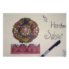 #Dibujo #Concepto #Tlamatini