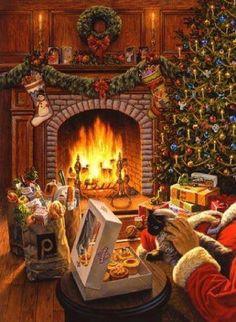 I knew it! Santa shops at Publix!