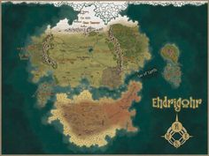 """A very enjoyable commission done for [URL=""""[link]""""]Council of Fools[/URL], for their [URL=""""[link]""""]Edrigohr RPG[/URL]. American Indians, Native American, Indians Game, Fantasy World Map, Photoshop Cs5, Cartography, Game Design, Dungeons And Dragons, Pixel Art"""