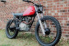 1980 Honda XL185S Scrambler by LongShotMoto   #scrambler #tracker #longshotmoto