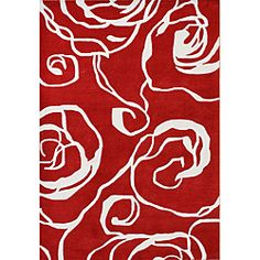 @Overstock - Give your home or office space a lovely update with this blended New Zealand wool rug. With shades of red and off-white, this rug will help tie any room together.   http://www.overstock.com/Home-Garden/Handmade-Sabrina-Red-New-Zealand-Wool-Rug-5-x-8/6143508/product.html?CID=214117 $159.79