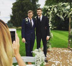 Jim Chapman with brother John Chapman.  Janya Wedding