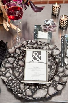 Sweet! - black themed wedding |  siegel thurston photography | CHECK OUT MORE GREAT BLACK AND WHITE WEDDING IDEAS AT WEDDINGPINS.NET | #weddings #wedding #blackandwhitewedding #blackandwhiteweddingphotos #events #forweddings #iloveweddings #blackandwhite #romance #vintage #blackwedding #planners #whitewedding #ceremonyphotos #weddingphotos #weddingpictures