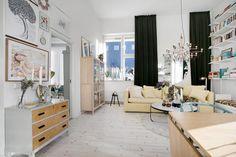 Spectacular scandi apartment