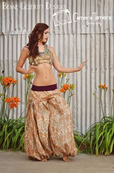ATS Tribal Fusion bellydance Harem Pants.....to die for!!!