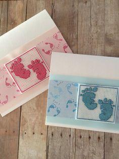 Handmade Card Baby Boy Card Baby Girl Card New Baby Card