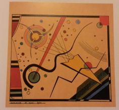 Wassily Kandinsky: Sheet from the portfolio for Walter Gropius, 1924.