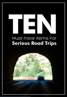 10 Must-have items to pack for your road trip
