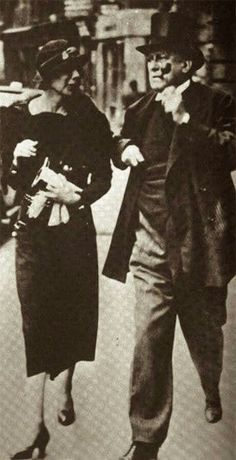 Aleister Crowley and Lady Frieda Harris