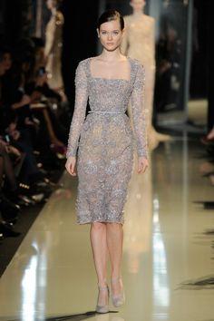 Elie Saab: Runway - Paris Fashion Week Haute-Couture Spring/Summer 2013